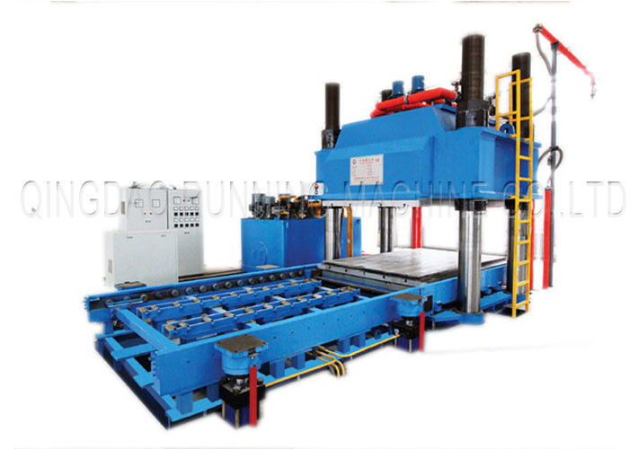 5.5KW Rubber Tiles Manufacturing Machines