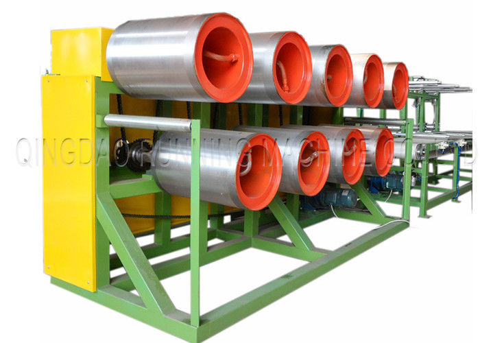 High Performance Rubber Batch Off Equipment With Drum Roll Cooling