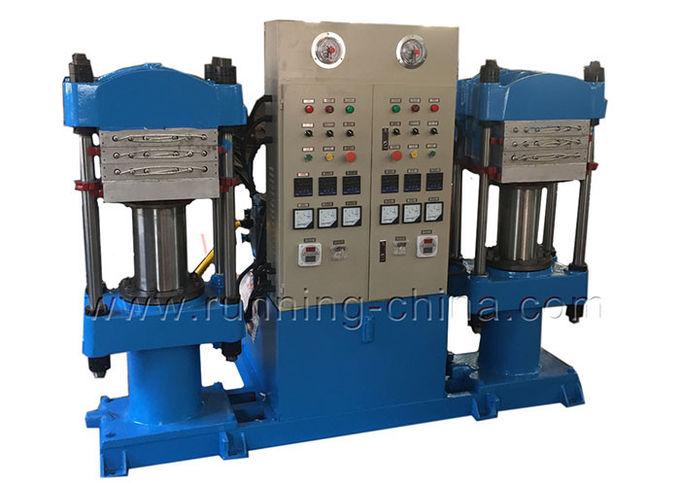 Horizontal Rubber Vulcanizing Press Machine Floor Mat Making